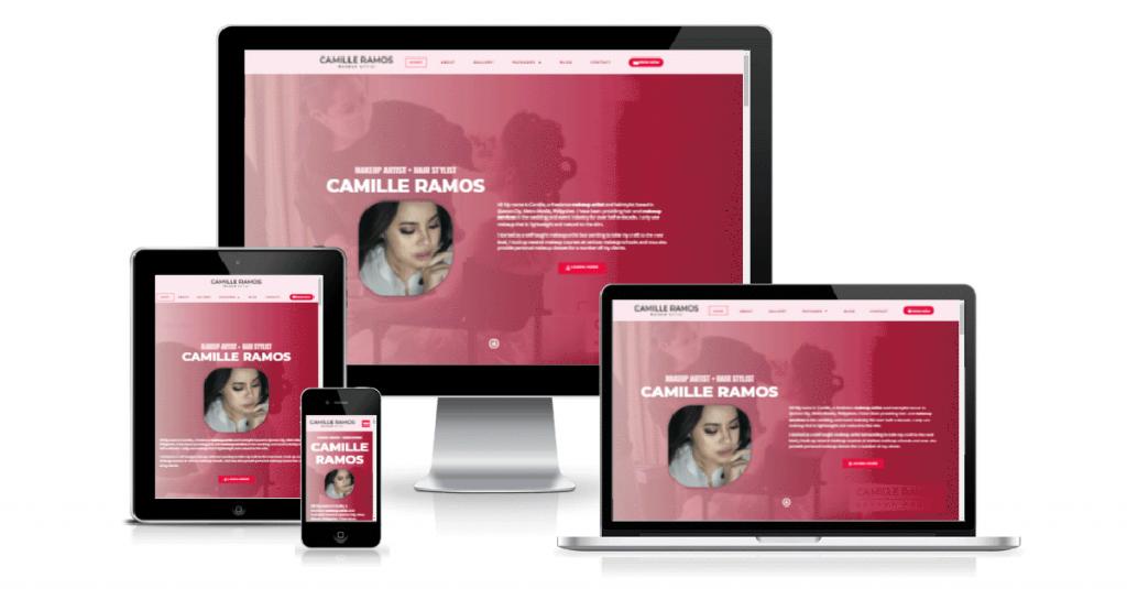 Website Design Featured Image camilleramos.com